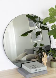 Society of Lifestyle Mirror House Doctor Walls Grey 80 cm Ø