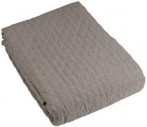 Fondaco Throw Paz Double bed 260x260 cm - Grey