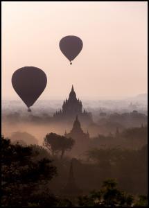 Lagervaror egen produktion Hot Air Balloons Poster