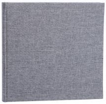 Focus Base Line Canvas Grey 26x25 cm (80 White pages / 40 sheets)