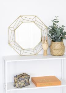 KAILA KAILA Mirror Abstract - Gold 50x50 cm