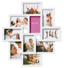 Walther Timeless Collage picture frame White - 10 Pictures
