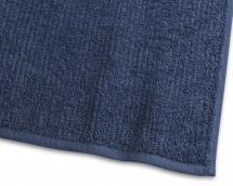 Borganäs of Sweden Hand Towel Stripe Terrycloth - Marine Blue 50x70 cm