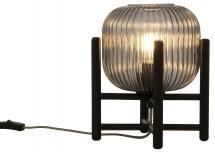 Aneta Belysning Table Lamp Vinda Big - Black/Smoked