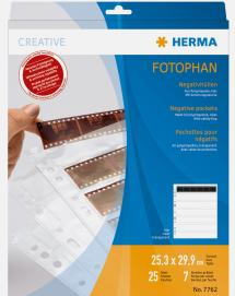 Herma negative sleeves - 25-pack
