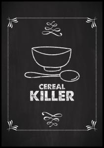 Lagervaror egen produktion Cereal Killer Poster
