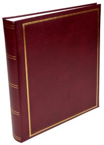 Exclusive Line Maxi Photo Album Maroon 30x33 cm (100 White pages / 50 sheets)
