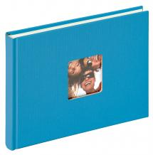 Walther Fun Album Sea blue - 22x16 cm (40 White pages / 20 sheets)