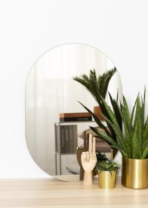 KAILA KAILA Mirror Oval Dark Bronze 50x70 cm