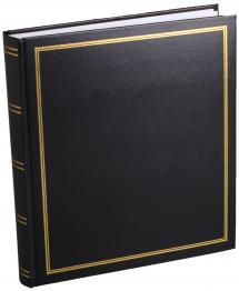 Estancia Diamond Photo album Black 27,5x32 cm (100 White pages / 50 sheets)