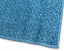 Borganäs of Sweden Guest Towel Stripe Terrycloth - Turquoise 30x50 cm