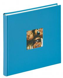 Walther Fun Album Sea blue - 26x25 cm (40 White pages / 20 sheets)
