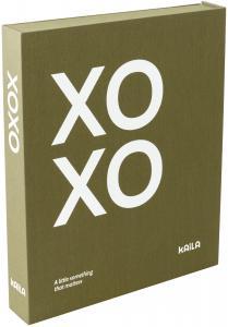 KAILA KAILA XOXO Olive - Coffee Table Photo Album (60 Black Pages)