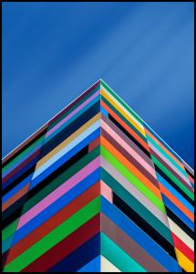 Bildverkstad Color Pyramid Poster