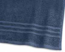 Borganäs of Sweden Guest Towel Basic Terrycloth - Marine Blue 30x50 cm