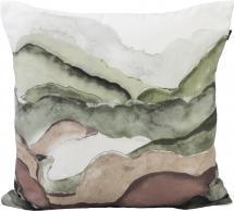 Redlunds Skymning Pillow case Green 45x45 cm