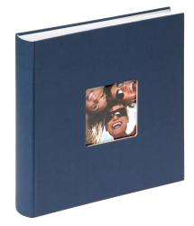 Walther Fun Album Blue - 30x30 cm (100 White pages / 50 sheets)