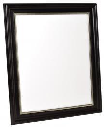 Spegelverkstad Mirror Mora Black-Silver - Custom Size
