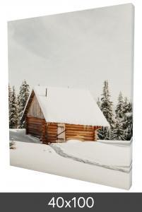 Egen tillverkning - Kundbild Canvas frame 40x100 cm - 18 mm