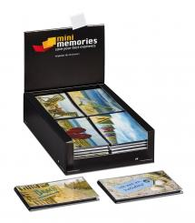 Walther Mini Memories Album Holiday 6 variants - 40 Pictures in 10x15 cm - 36-pack