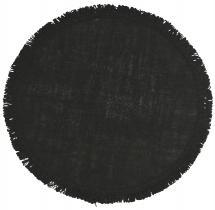 Fondaco Placemat Ville - Black 38 cm Ø