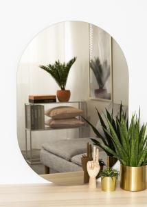 KAILA KAILA Mirror Oval Dark Bronze 70x100 cm