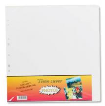 Album sheets Timesaver Gigant - 10 White sheets