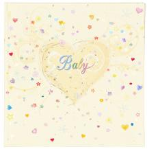 Innova Editions Premium Baby album - 25x25 cm (50 White pages / 25 sheets)